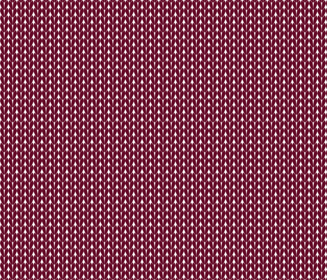 Knit Stitches - Burgundy - Knitter's Kitchen fabric by knitterskitchen on Spoonflower - custom fabric