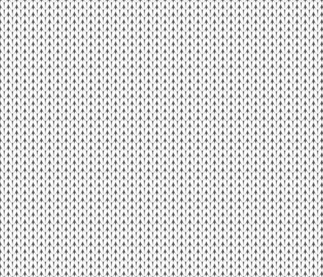 Knit Stitches - White on Grey - Knitter's Kitchen fabric by knitterskitchen on Spoonflower - custom fabric
