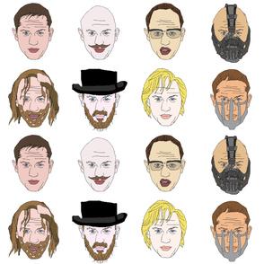 The Many Faced Tom Hardy