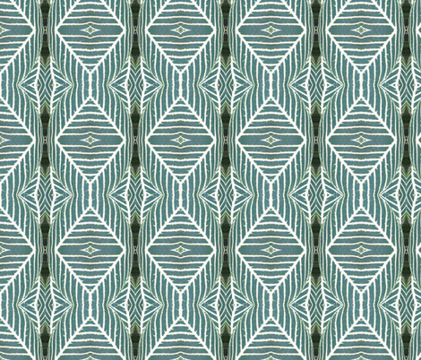 Tropical Stripe - vertical fabric by elise_camp on Spoonflower - custom fabric
