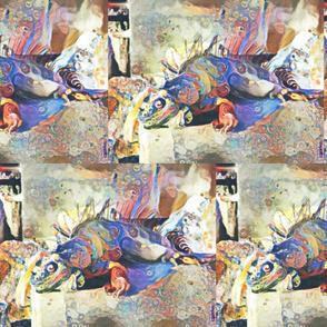 Iguana portraint