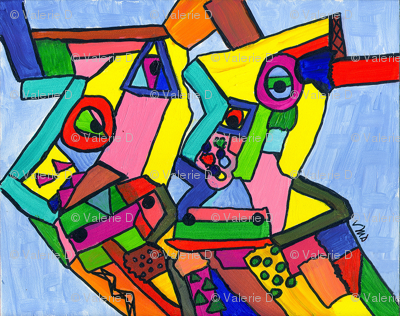 Abstract Cows