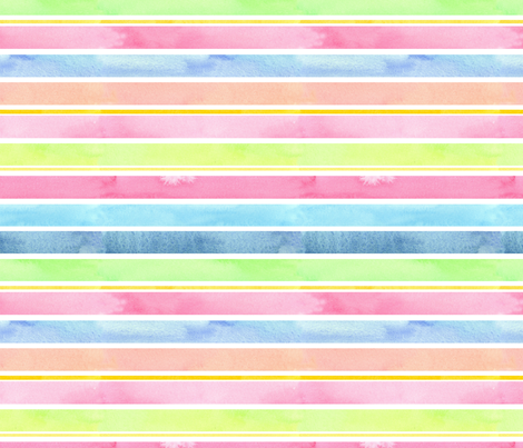 Pastel Stripes fabric by countrygarden on Spoonflower - custom fabric