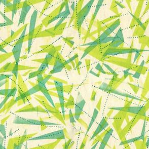 Bright Grass Print