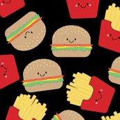 Rburger_fries_pattern_plain_black_shop_thumb