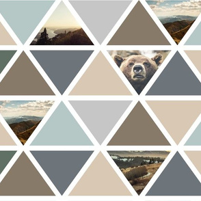 explore (large scale) // bear triangles