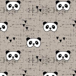 panda mask || tuscan