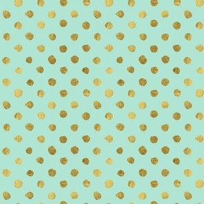 Gold Dots Mint