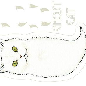 Ghost Cat plush