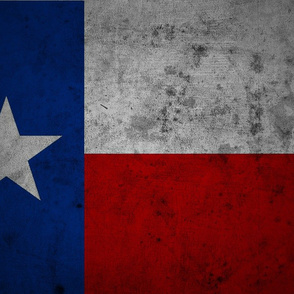 Distressed Texas Flag