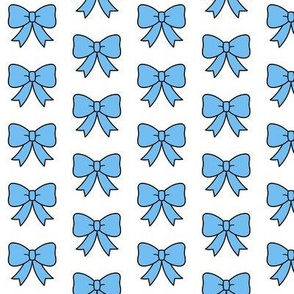 Itty Bitty Blue Bows