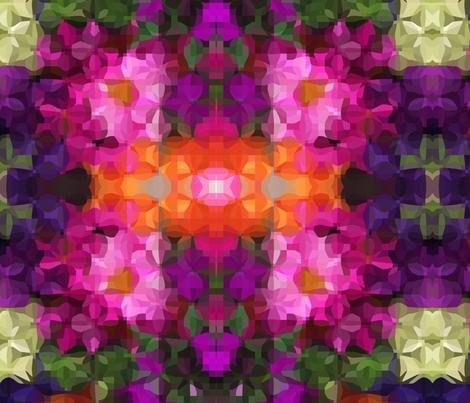 Bloom fabric by stephaniecolecreations on Spoonflower - custom fabric