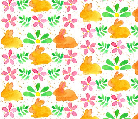 Bunny_flowers_spatter_fabric_shop_preview