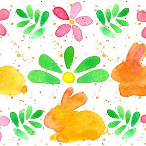 Bunny Flowers
