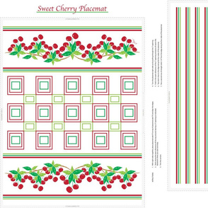 Sweet Cherry Placemat