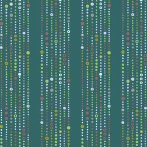 QuietPattern: Dot Stripe 1