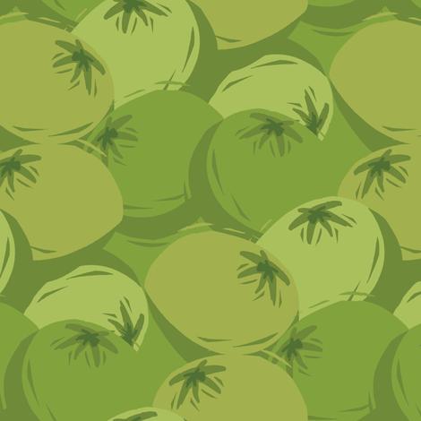 Green tomatoes fabric by storylinecaroline on Spoonflower - custom fabric