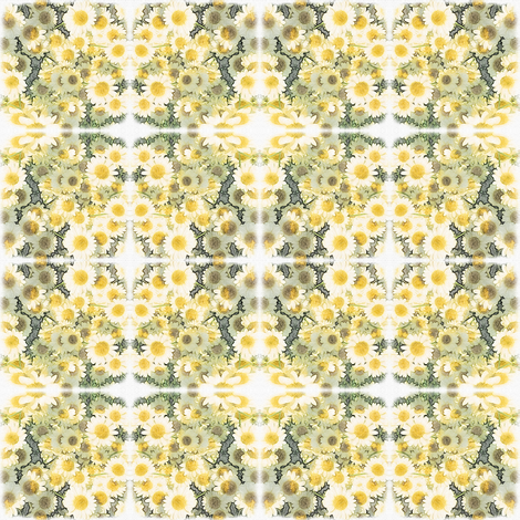 Daisy Chains fabric by whimsydesigns on Spoonflower - custom fabric