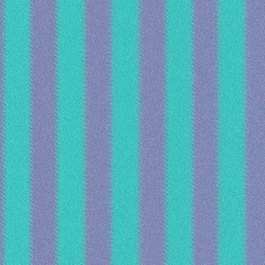 Turquoise and Lavender Ripple Stripes