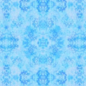 Sponged_Bicoloured_Aqua_Blue Tonal Blender