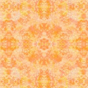 Sponged Bicolor Blender Tonal Yellow Orange