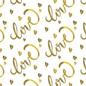 Meatallic Gold Love