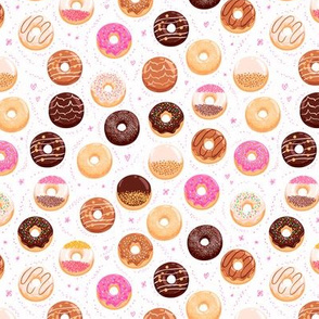 Donuts medium scale