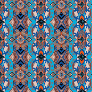 African Blue Double Take