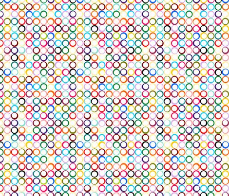 wht-on-wht-rings fabric by thirdhalfstudios on Spoonflower - custom fabric