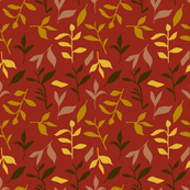 Tea Leaf Scatter (rust)
