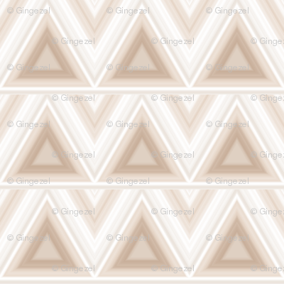 Beige Triangles on Cream small