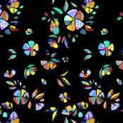 Glitch floral