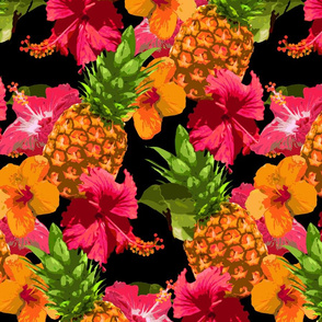 Hibiscus & Pineapples