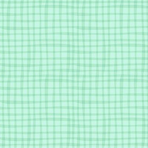 BZB Perfect Gingham baby mint