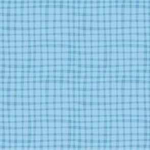 BZB Perfect Gingham babyblue