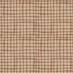 BZB perfect gingham brown