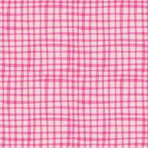 BZB perfect gingham pink