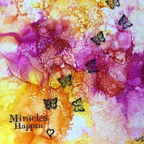Miracles happen and butterflies soar