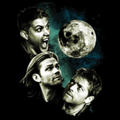 Three Supernatural Moon