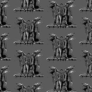 Team Free Will Supernatural Graffiti