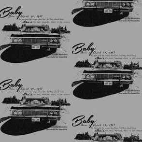 Supernatural Baby Impala Words