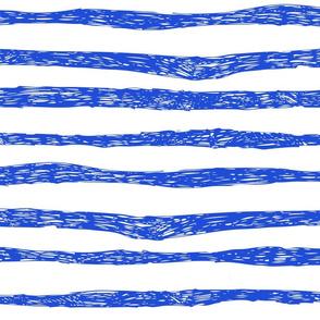 BZB stripe bright blue