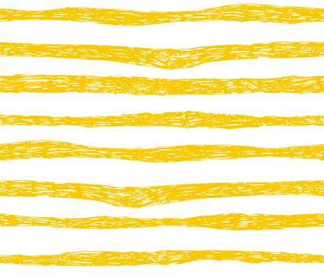 BZB stripe yellow fabric by bzbdesigner on Spoonflower - custom fabric