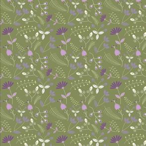 Groovy Garden (Green)