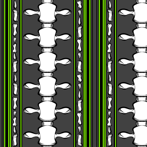 Spine 2 fabric by jadegordon on Spoonflower - custom fabric