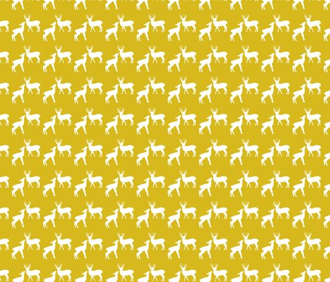 Deer_in_the_woods_white___yellow_deer_shop_preview