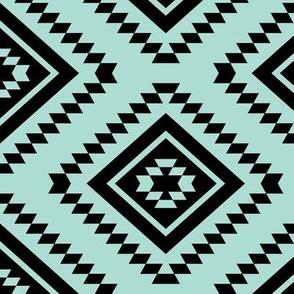 Aztec - Turquoise Light