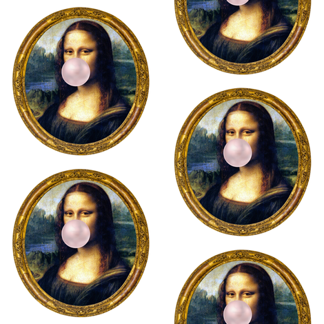 "Mona Chewing Gum 4"" fabric by shopcabin on Spoonflower - custom fabric"