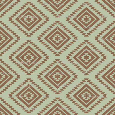 Aztec - Aloe, Brown
