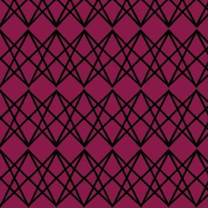 Overpass Stripe - Berry